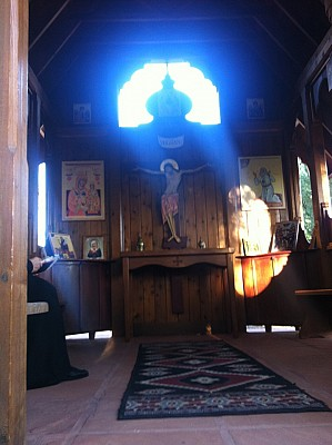 Original Photo from St. Seraphim Chapel at St. Anthony Monastery-Florence, AZ
